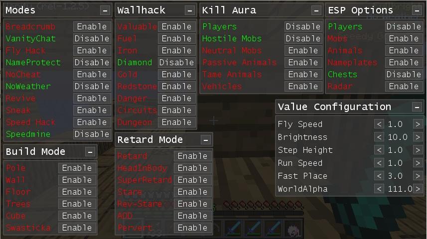 1.8 hacks
