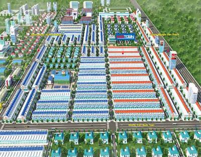 Khu dân cư New Town - đất nền TP mới Bình dương