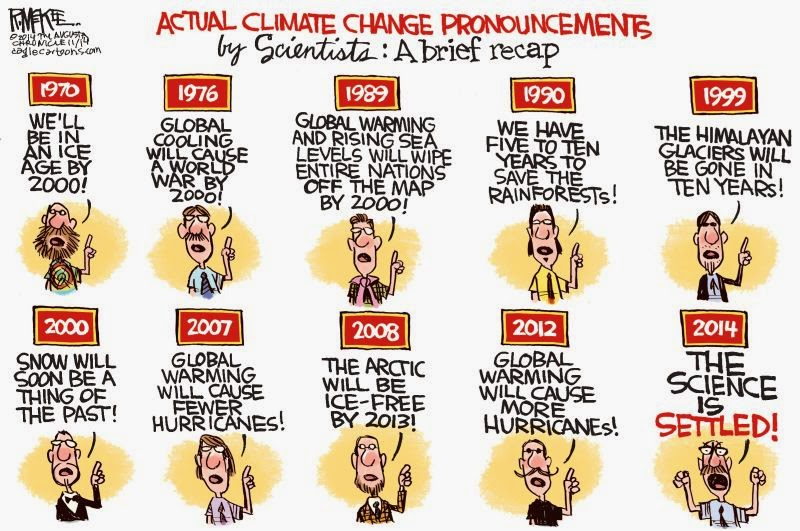the climate change scam