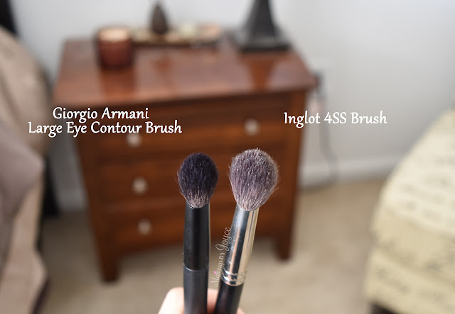 Giorgio Armani Large Eye Contour Brush Review
