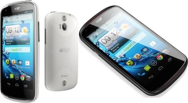 el nuevo phablet de Acer con Android