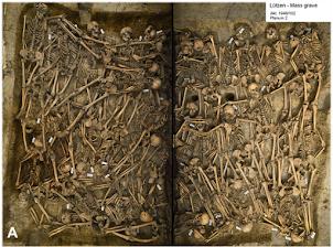 Des blessures mortelles constatées dans une fosse commune de la Guerre de Trente Ans