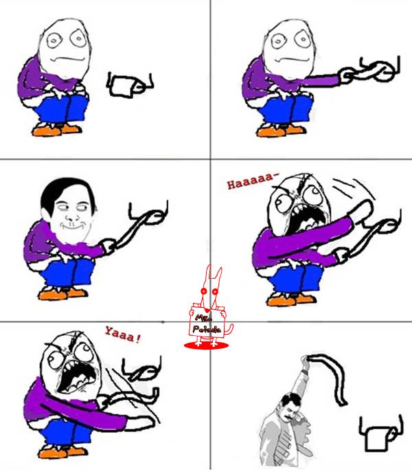 meme Ninja De Banheiro