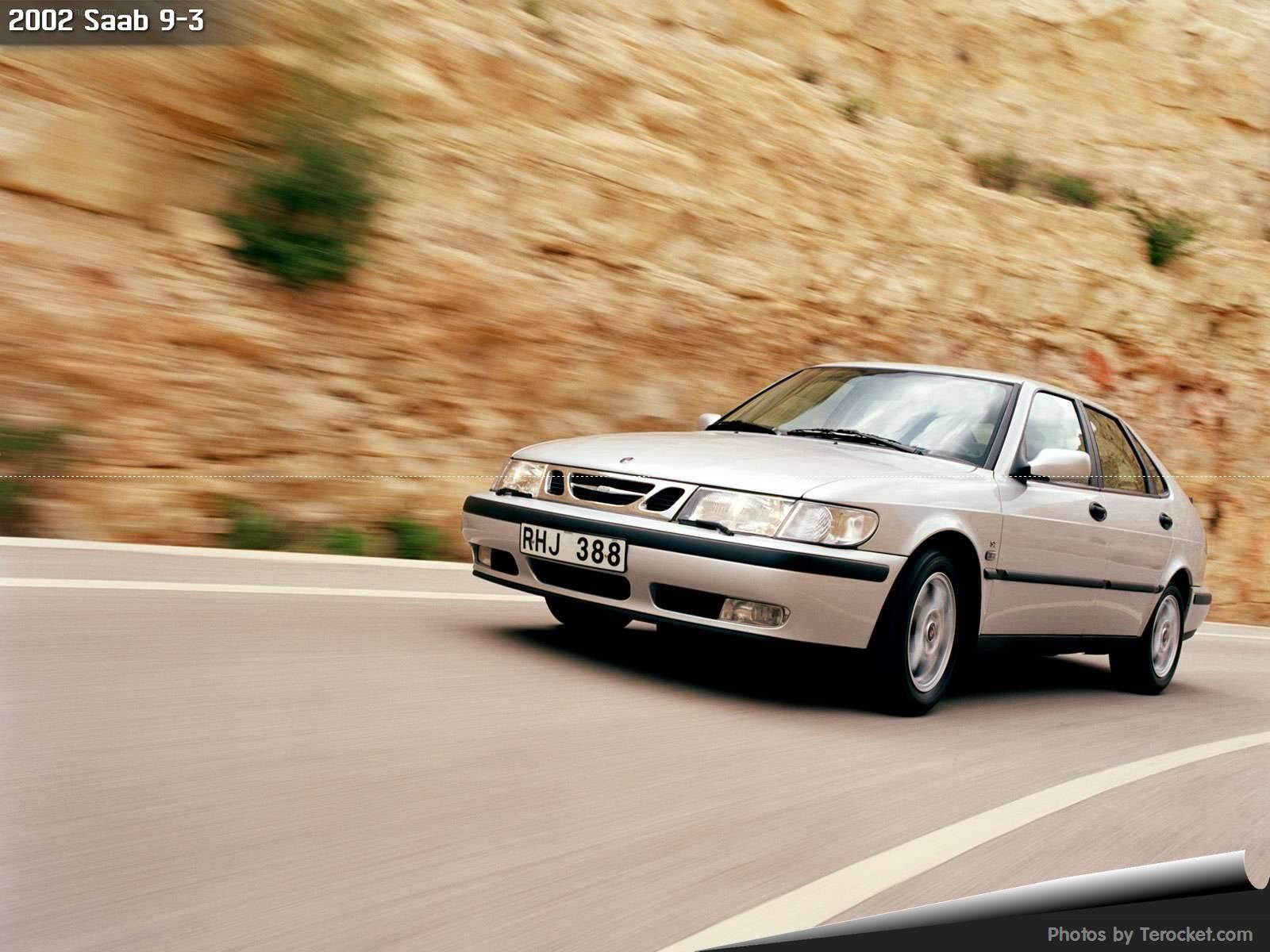 Hình ảnh xe ô tô Saab 9-3 2002 & nội ngoại thất