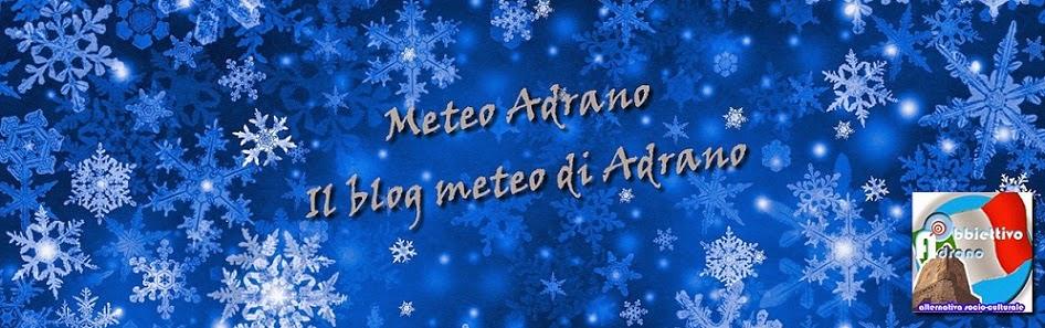 Meteo Adrano - Il blog meteo di Adrano