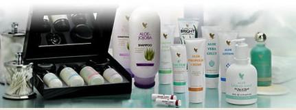 Amostra Gratis Aloe Vera com Shampoo, Gel, Creme entre outros