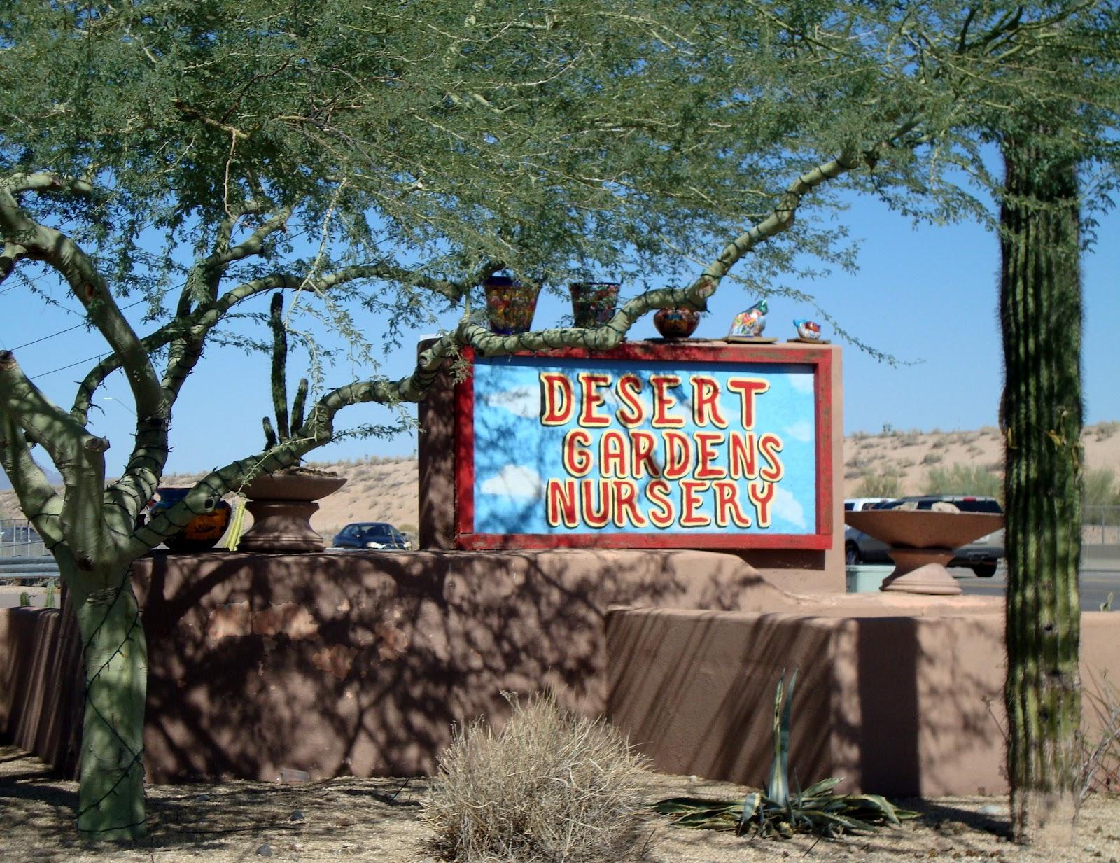 Desert Gardens Nursery Phoenix Az