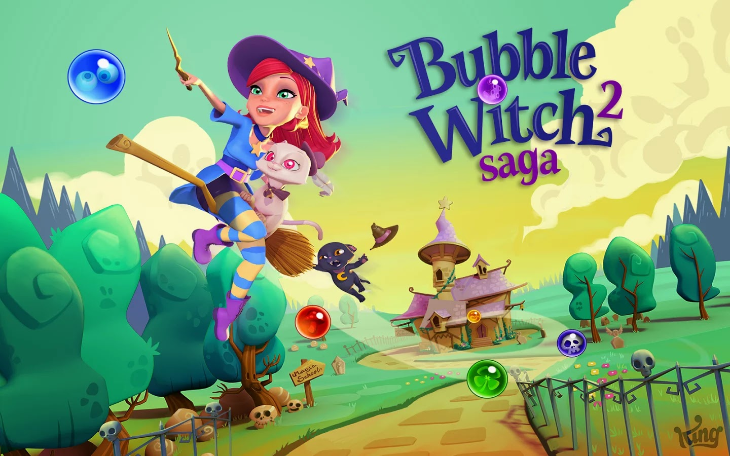 Bubble Witch 2 Saga v1.22.1 Mega Mod