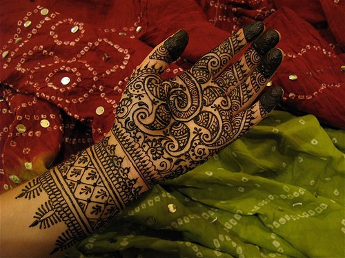 Marwari Mehandi Design