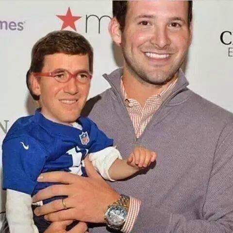 romo with baby eli