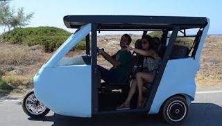 Βγαίνει στην.... παραγωγή το ηλιακό αυτοκίνητο της Κρήτης! (βίντεο)
