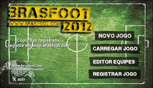 Brasfoot 2012 + Registro Lançado Oficialmente