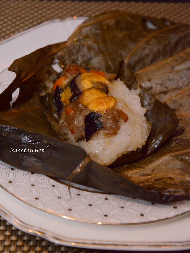 Lotus Leaf Steamed Sticky Rice with Duck - RM 10 for 2 pcs