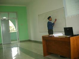 Mengajar di STAIN PWT
