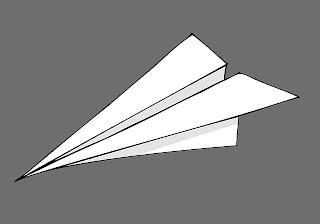 ... de fazer Aviões de Papel