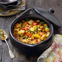 Cazuela de Tofu y Verduras especiadas