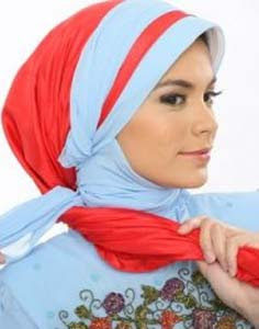 Trend Model Jilbab Kerudung Terbaru 2013