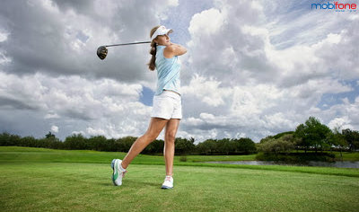 Ưu đãi khi chơi Golf dành cho hội viên của Mobifone