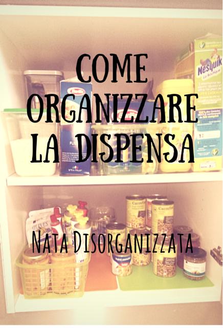 organizzazione dispensa