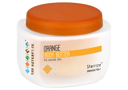 Orange body butter by The Nature's Co.