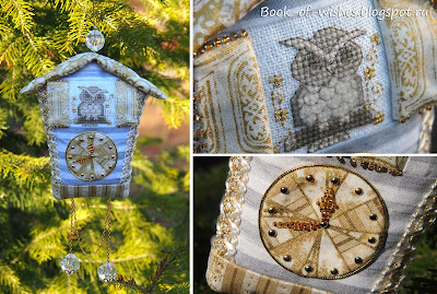 игрушка часы на елку