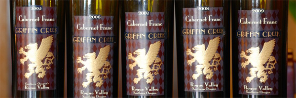 05-09 Griffin Creek Cabernet Franc Vertical Tasting