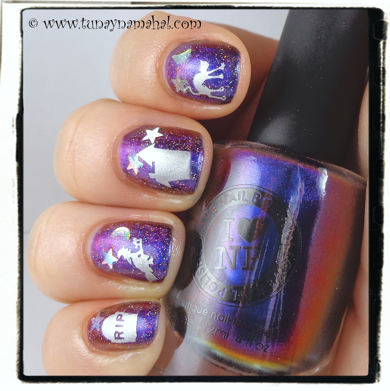 Winstonia & Cygnus Loop Halloween Nails | Tunay Na Mahal