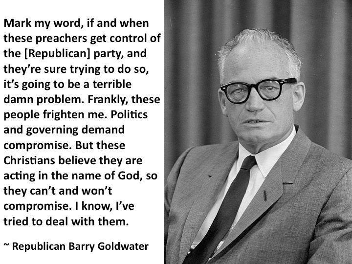 goldwater on religious right