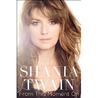 shania twain book cover