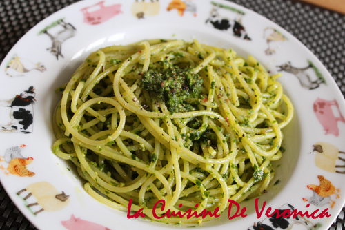 野蒜青醬意粉 Spaghetti with Wild Garlic Pesto