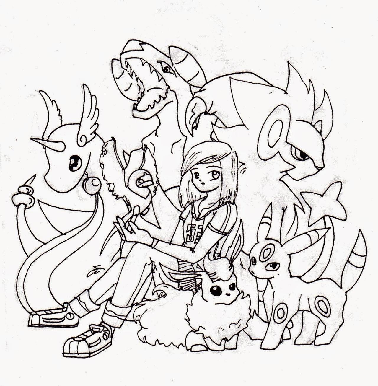 Disegni da colorare di pokemon for Disegni tumblr da colorare