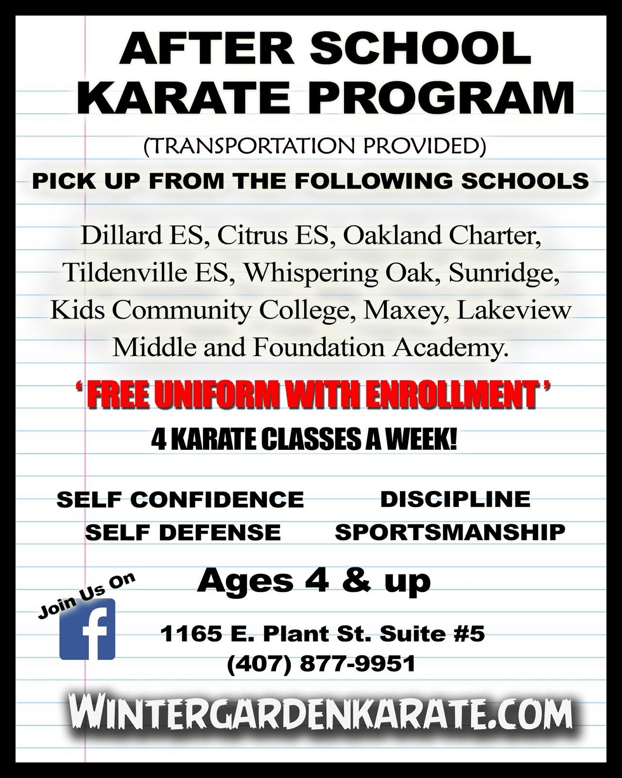 winter garden karate 2015