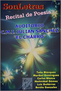 """Recital de poesía en el CMI Julián Sánchez """"El Charro"""", de Salamanca."""