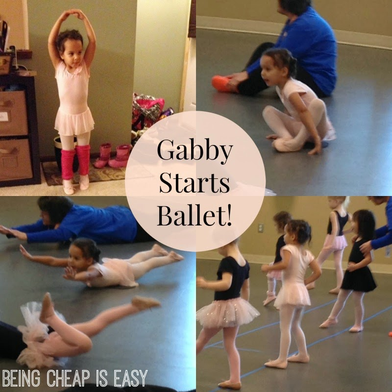 Toddler Ballet, Grand Rapids YMCA