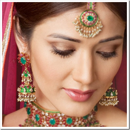 bridal makeup in india. makeup for hooded eyes. makeup
