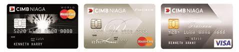 contoh kartu kredit bank niaga