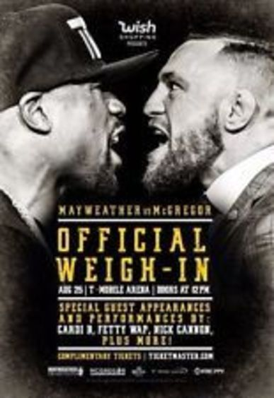 Watch Mayweather vs McGregor Online Free Live Streaming Putlocker