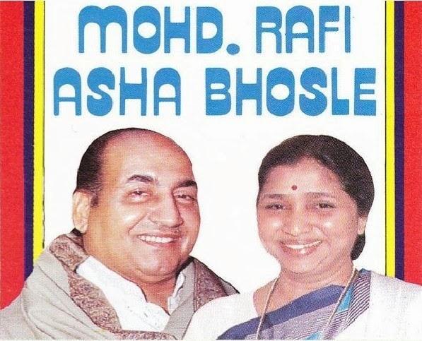 mohammad rafi and asha bhosle songs lyrics hindi songs