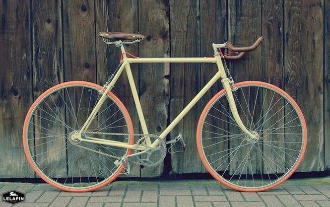 #SENDUSYOURBIKE | Fernand, first custom bicycle handcrafted by Lelapin