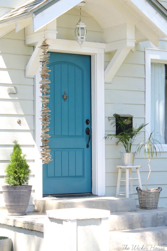 Front Door Driftwood Garland City Farmhouse