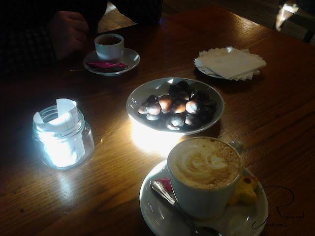 cafe con castañas