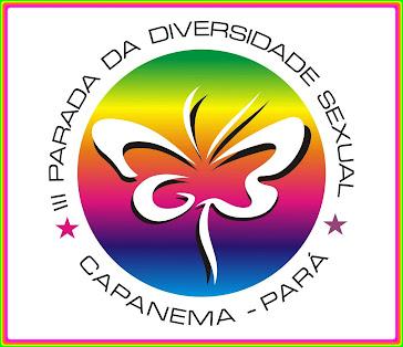 Postal da III Parada da Diversidade Sexual de Capanema 2011