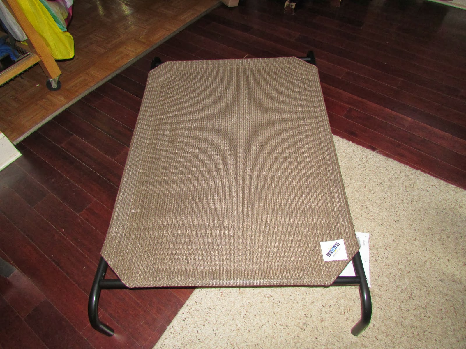 coolaroo kuranda style elevated dog bed review
