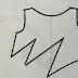 Como hacer fruncido o plegado asimétrico
