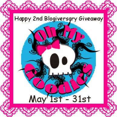 Oh My Goodies 2nd Blogaversary Giveaway