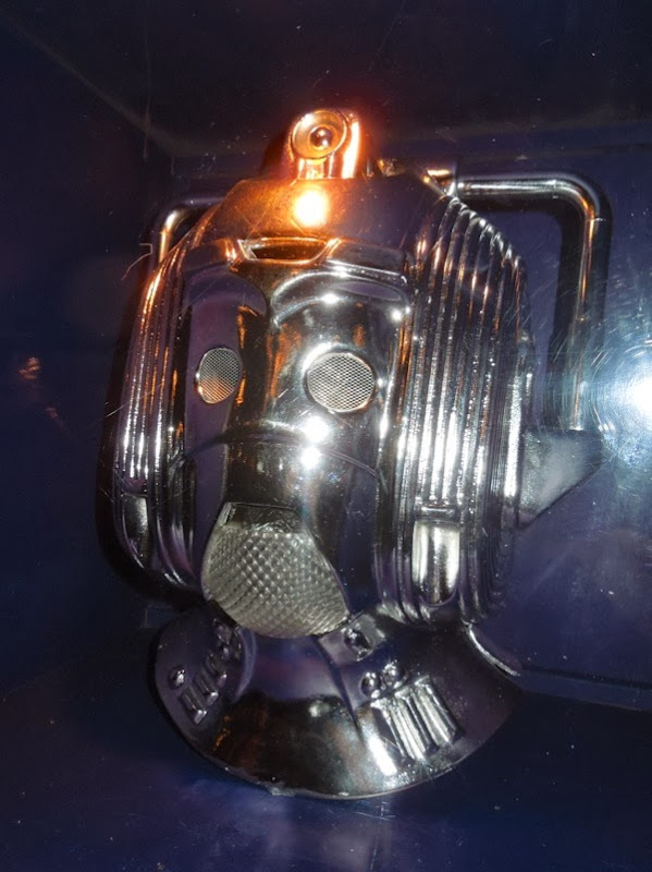 1988 Cyberman helmet Doctor Who Silver Nemesis