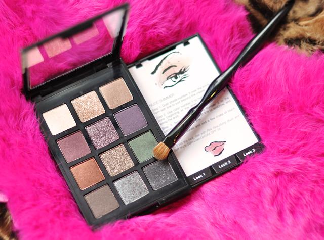 Sonia Kashuk Makeup, instructional eye palette, eye shadows