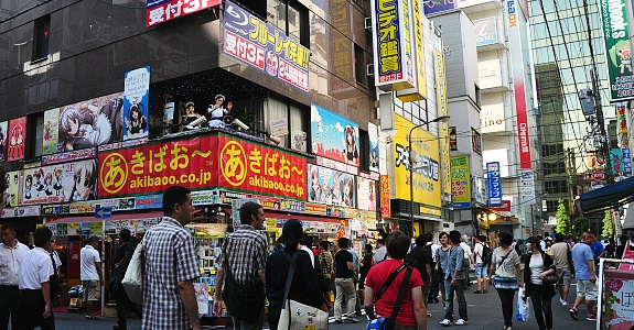 акихабара токио, электроника улица Токио, akihabara street Tokyo