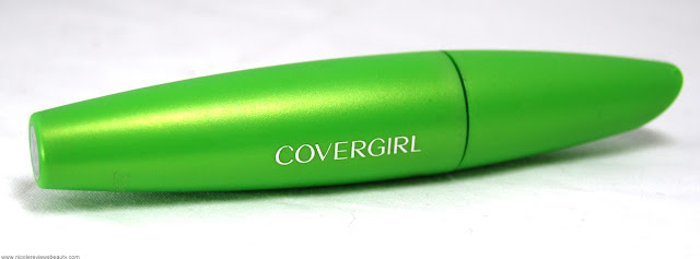 CoverGirl Lash Blast Clump Crusher Mascara in Very Black Review and Swatches