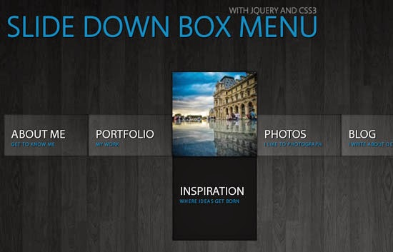 46 Creative & Free Drop Down Menus in HTML5 and CSS3